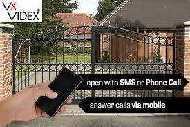 open gate automatic gates by an sms