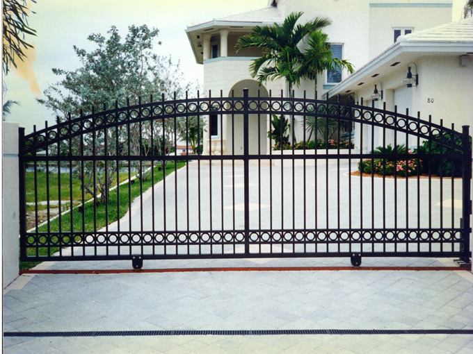 Steel Gates Sliding Gates Steel Driveway Gates Swing