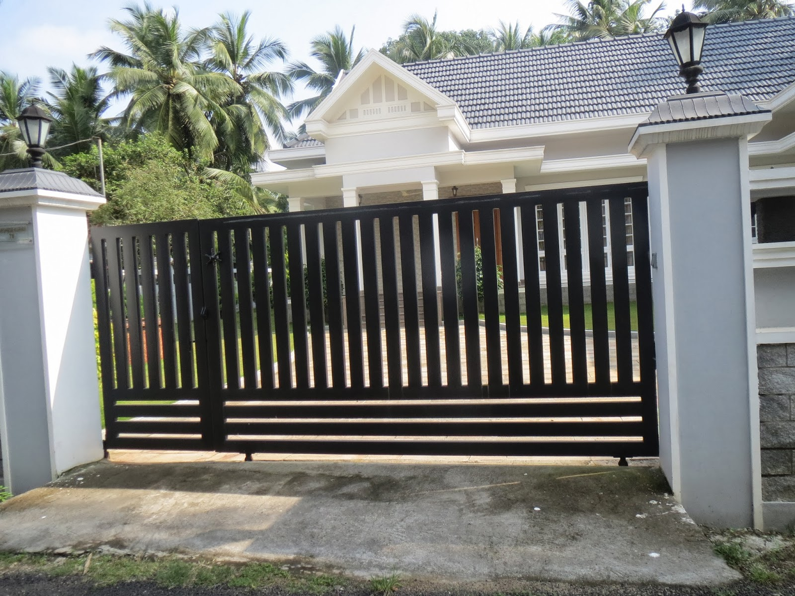 img modern door gate design gates for homes garden security sydney ny the myrtle beach electric ireland driveway iron used mills oregon  - 35+ Gate Design For Small House Philippines Pictures
