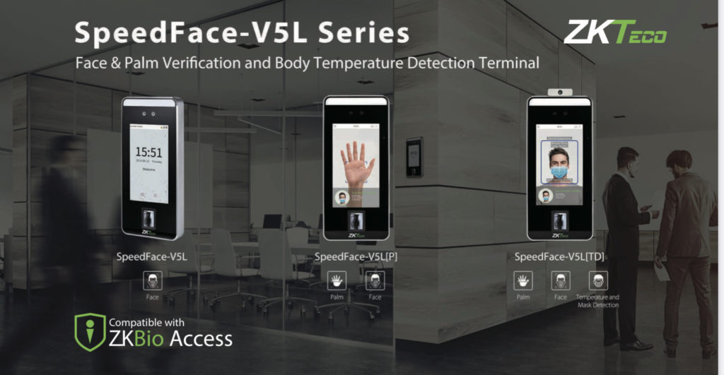 Thermal detection/ Temperature mask facial scanners